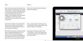 Ipad version of FileMaker 13 presentation