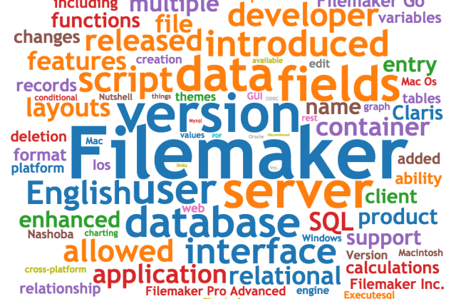 Word Cloud with FileMaker Terms