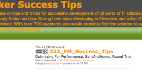 FileMaker Success Tips 322