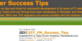 FileMaker Success Tips 337