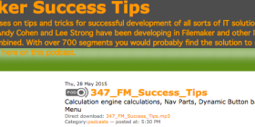 Filemaker Success Tips 347