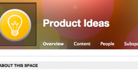 Product Ideas Space
