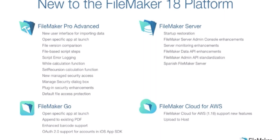 New features of FileMaker 18
